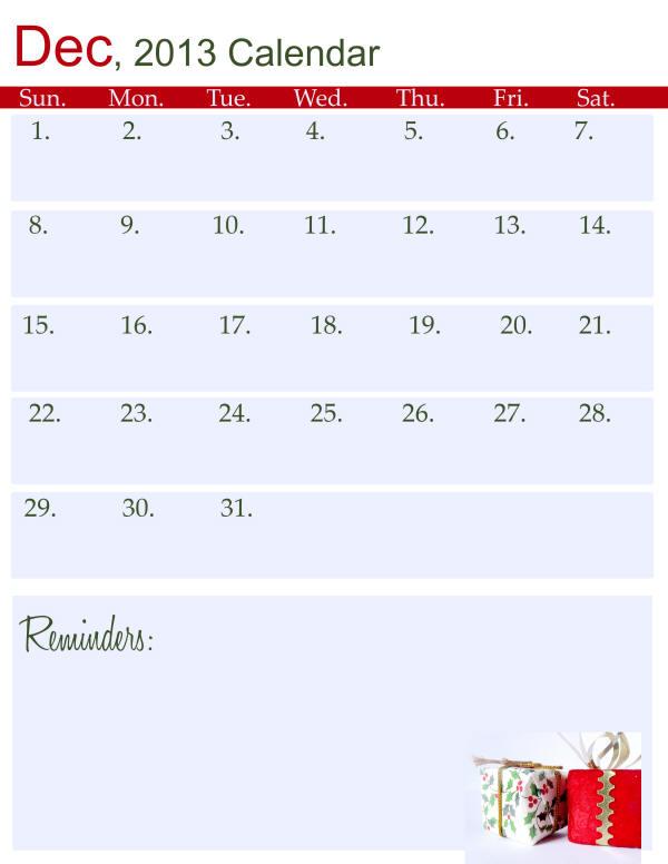 Christmas-December2013-Calendar