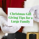 Christmas Gift Giving Tips for a Large Family