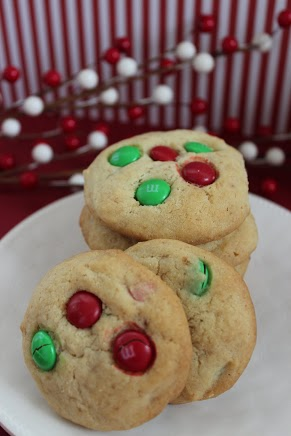Christmas M&M Cookies Recipe