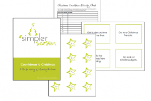 Free Countdown to Christmas Activity Printable