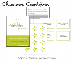 Christmas countdown banner 300x258 Free Countdown to Christmas Activity Printable