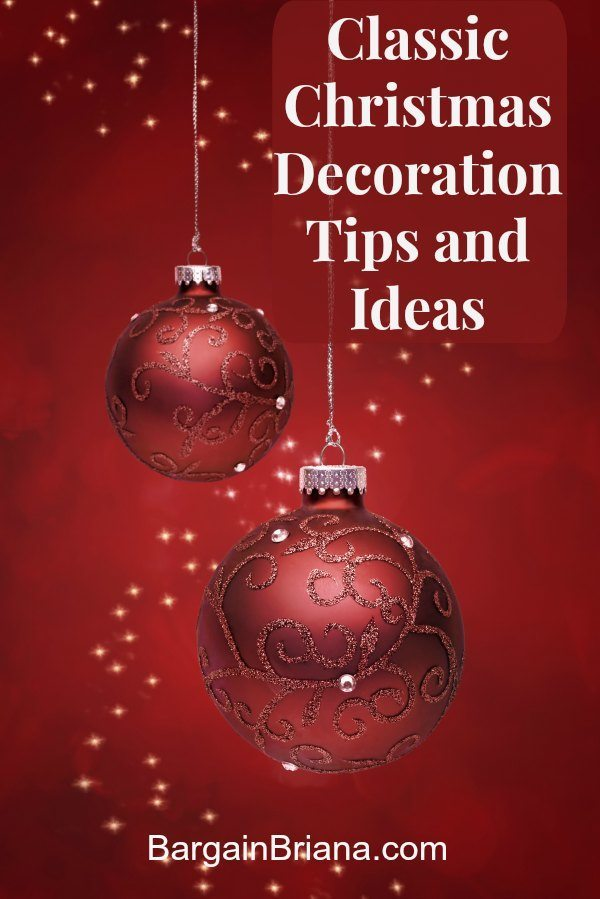 Classic Christmas Decoration Tips and Ideas