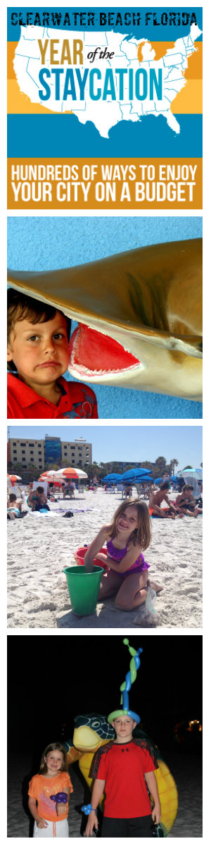 Clearwater Beach Florida Staycation
