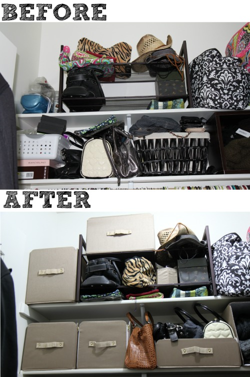 Organizing Before And After: Closet Makeover #SOFIStyle
