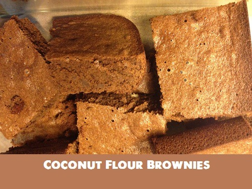 Coconut Flour Brownies