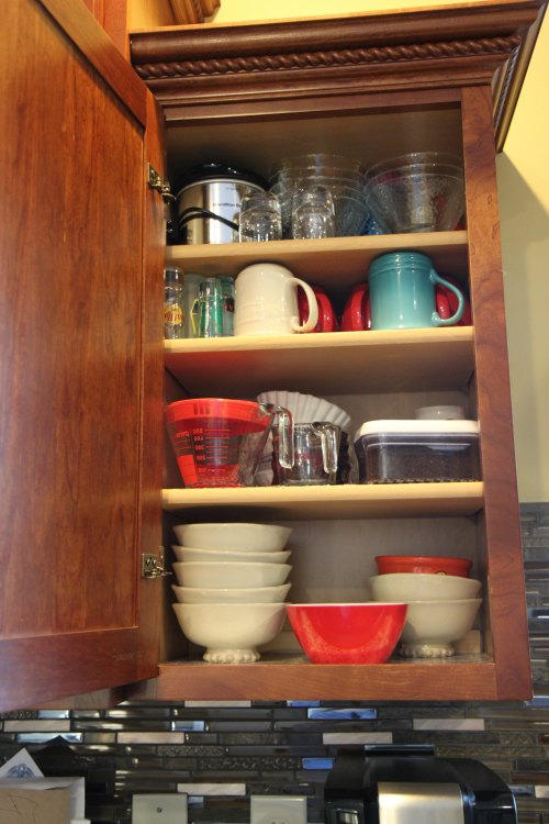 Coffee - Bowl Cabinet