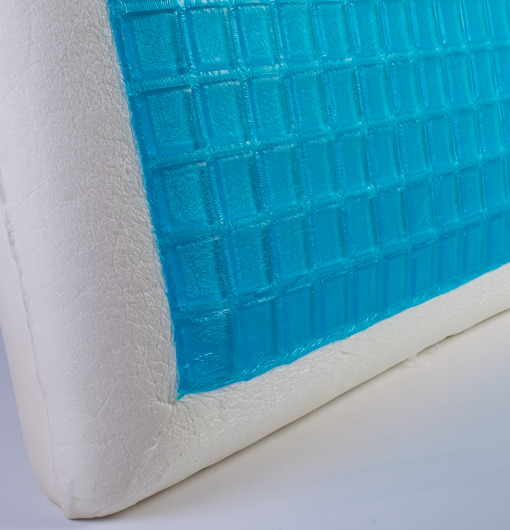 Cold Pillow1 Home Sense Cool Gel Memory Foam Standard Sized Comfort Pillow $27.99 (Free Shipping)