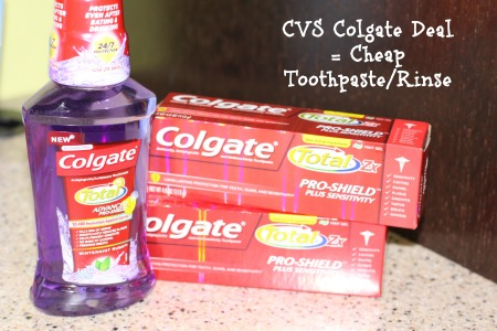 Colgate Toothpaste Deal at CVS