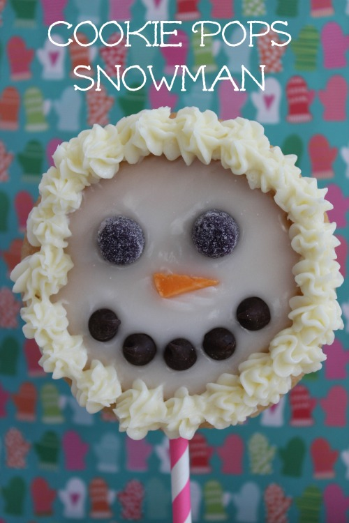 Cookie Pops Snowman