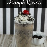 Cookie Sandwich Frappe Recipe with International Delight