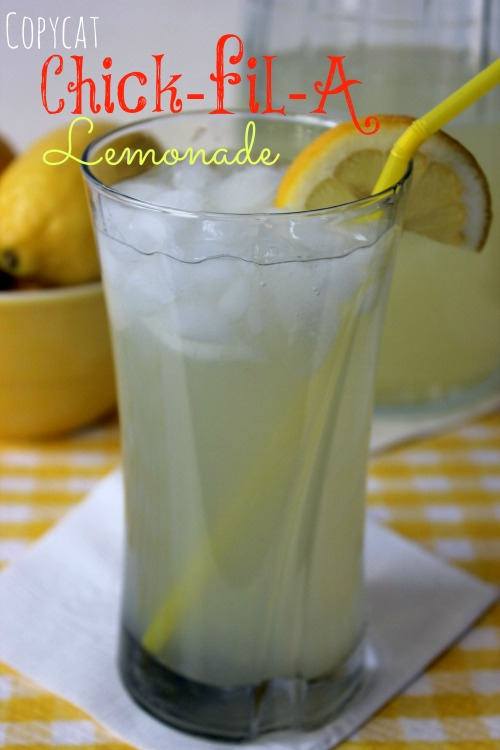 Copycat Chick-fil-A Lemonade Recipe
