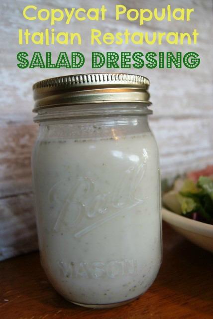 copycat popular italian restaurant salad dressing - Olive Garden White Marsh