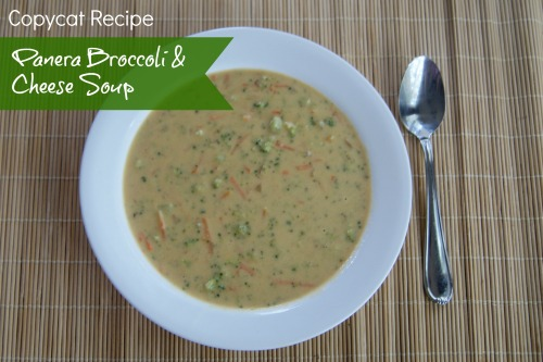 Copycat Panera Broccoli Cheese Soup Recipe