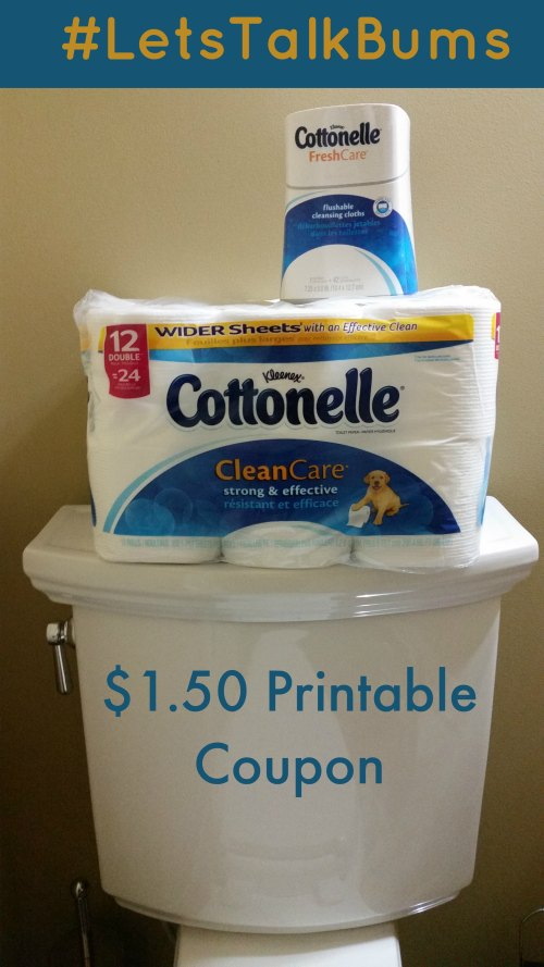 Cottonelle Lets Talk Bums