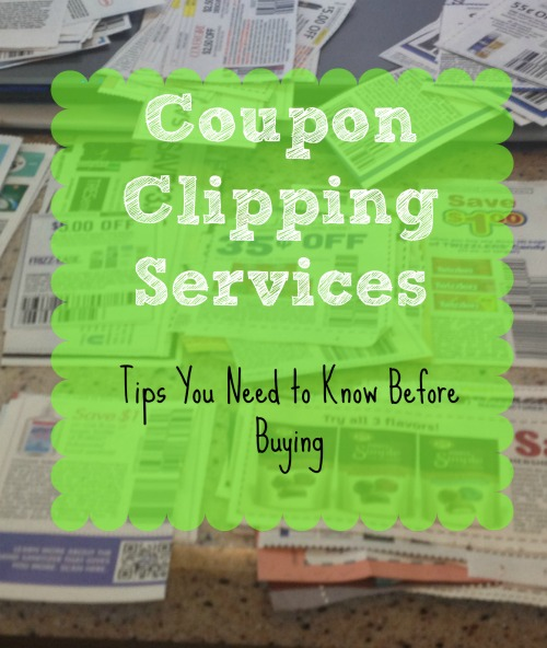 Coupon Clipping Services Tips You Need to Know Before Buying