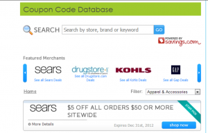 Coupon Code Database