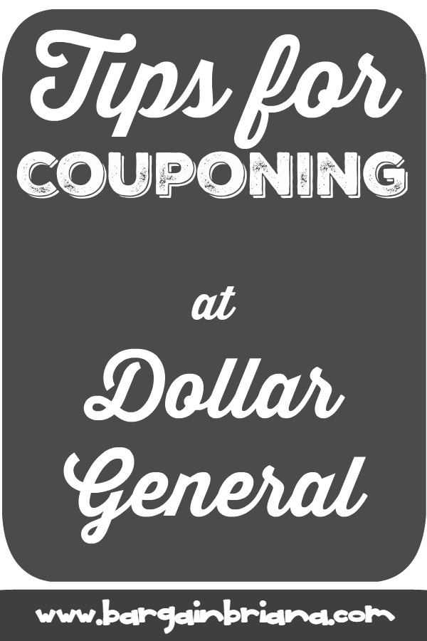 Couponing Tips for Dollar General - Learn to Coupon 101