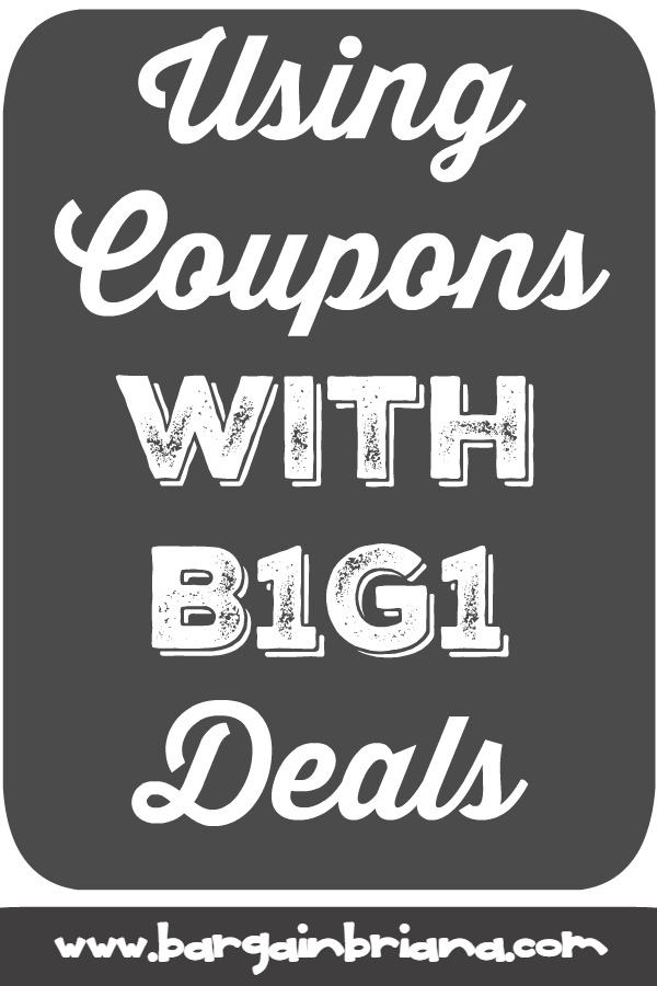 Coupons and B1G1 Deals - Learn to Coupon 101
