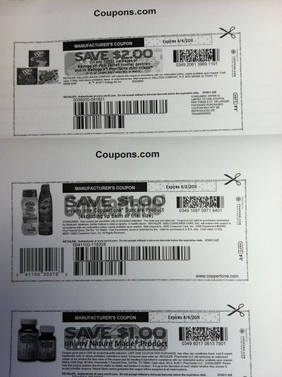 New databar barcodes on coupons bargainbriana if you printed out the 23 kelloggs printable you probably noticed it appears to be missing something however it is not it is just a coupon with the fandeluxe Gallery