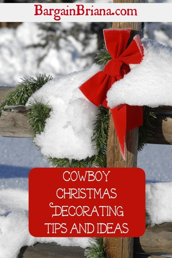 Cowboy Christmas Decorating