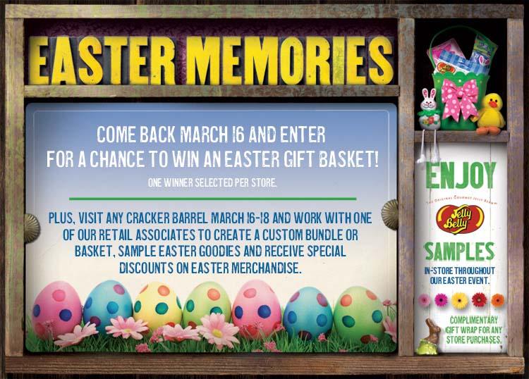 Cracker Barrel Easter Event