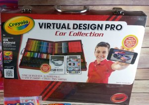 Crayola Virtual Design Pro Car Collection Holiday Gift Guide