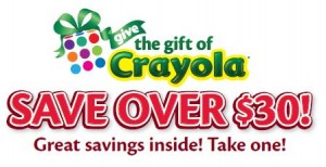 Crayola1 Mail in Rebate: 11 Different Crayola Products