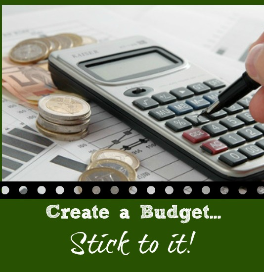 Create a Budget and Stick to it via BargainBriana1