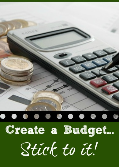 Creating a Budget and Sticking to it via BargainBriana
