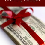 Creating a Holiday Budget