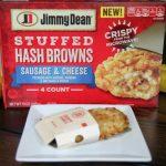 Crispy Jimmy Dean Stuffed Hash Browns