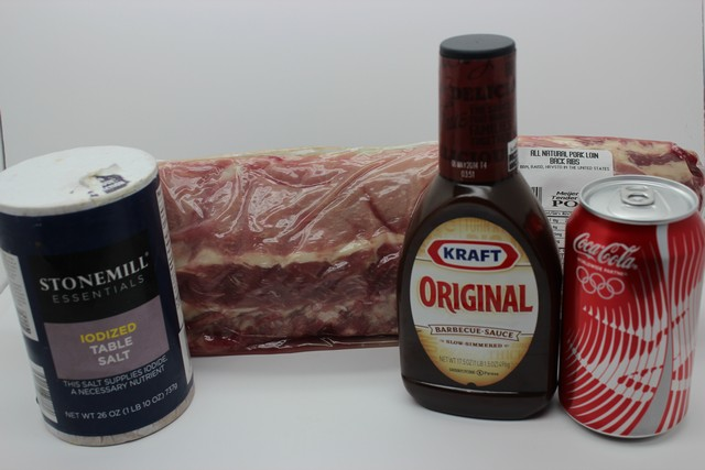 Crock Pot Coke Baby Back Ribs Ingredients