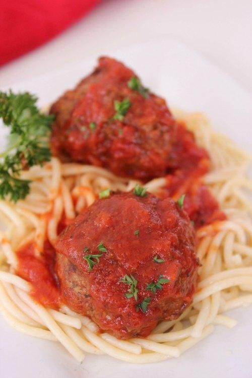 Crockpot Italian Meatballs