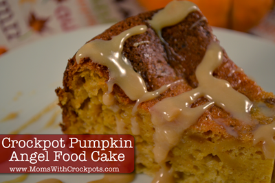 Crockpot Pumpkin Angel Food Cake 50 Pumpkin Recipes to Try