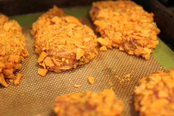 Crushed Cheese Cracker Pork Tenderloin Recipe