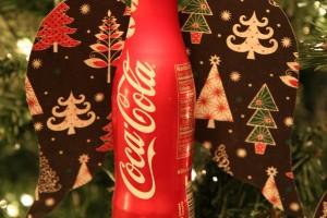 DIY Angel Coca-Cola Aluminum Bottle Christmas Ornament