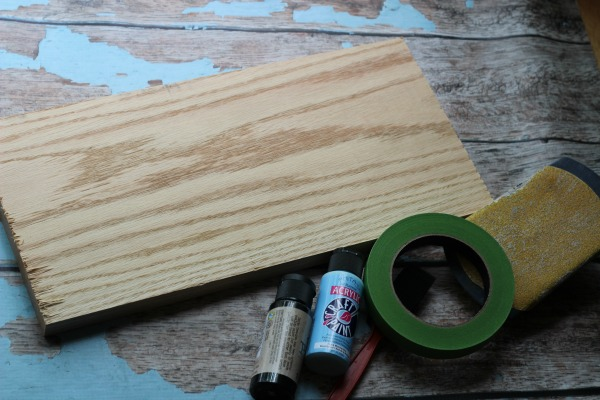 DIY Cutting Board Supplies
