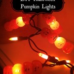 DIY Halloween Pumpkin Lights