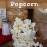 DIY Homemade Popcorn Instructions