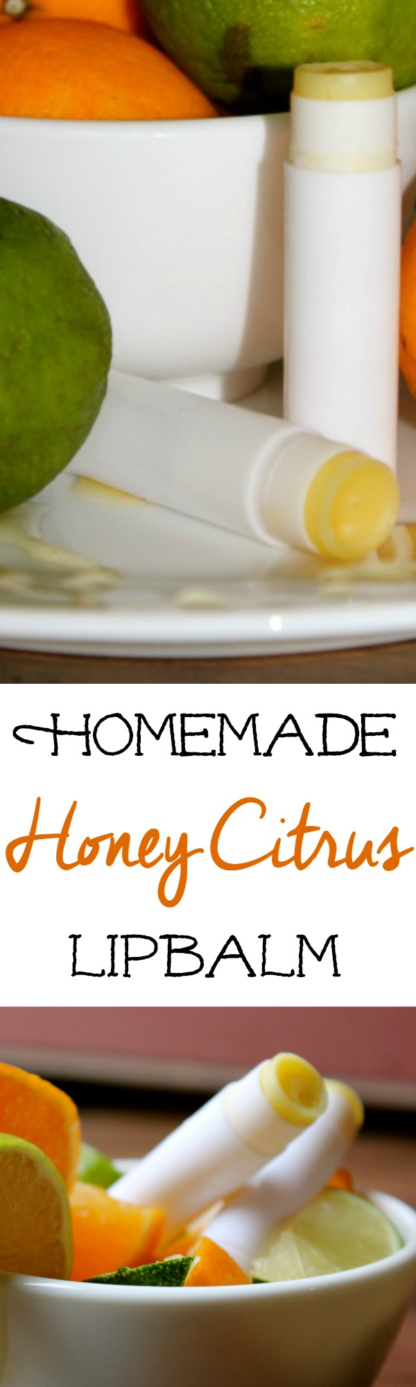 DIY Honey Citrus Lipbalm Recipe