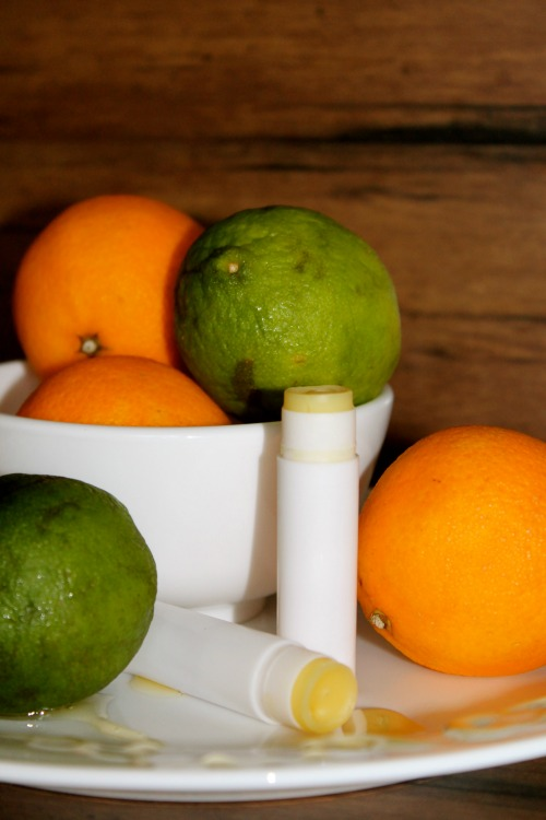 DIY Honey Citrus Lipbalm