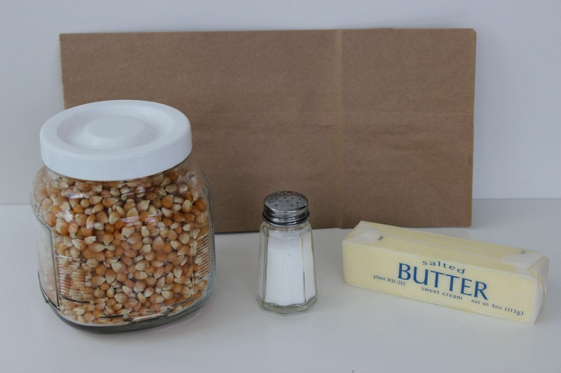 DIY Microwave Popcorn Ingredients
