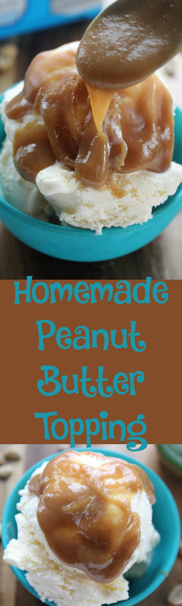 DIY Peanut Butter Topping
