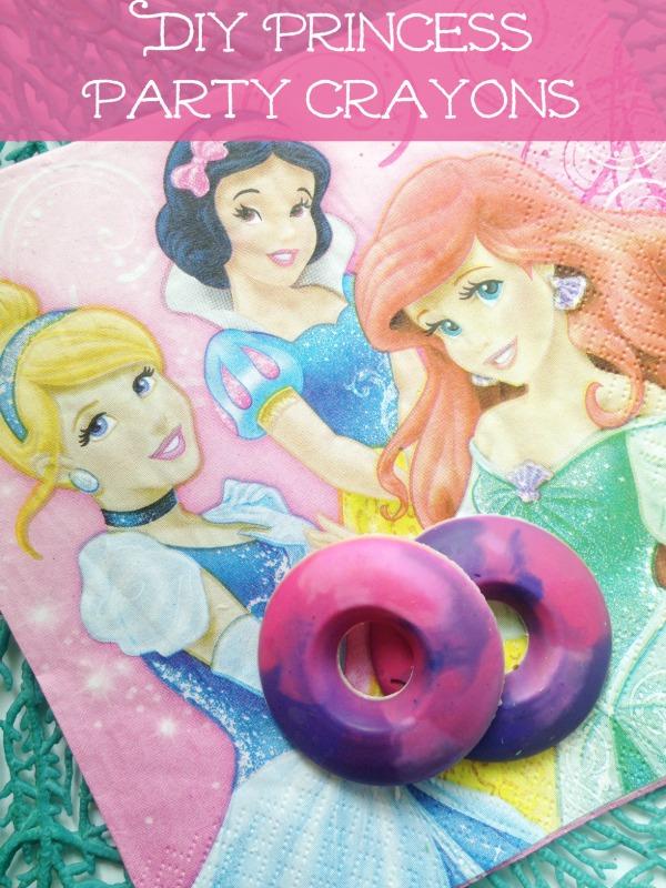 DIY Princess Party Crayons
