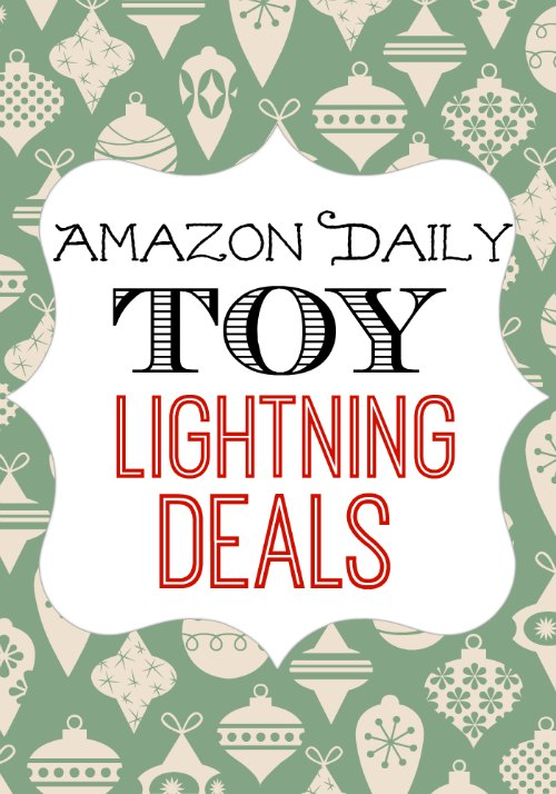 Daily Toy Lightning Deals at Amazon