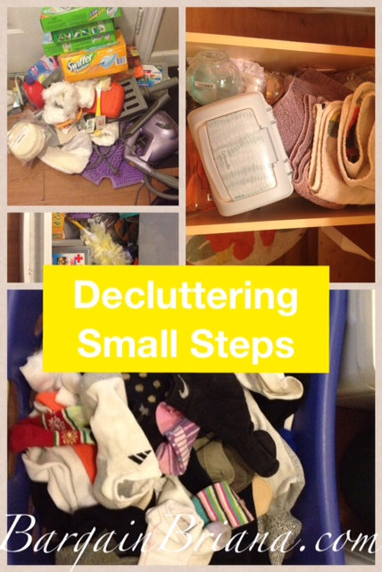 Decluttering Your Home: Start Small, Really Small