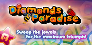 Diamonds Paradise 300x148 Free Android App: Star Diamonds Paradise