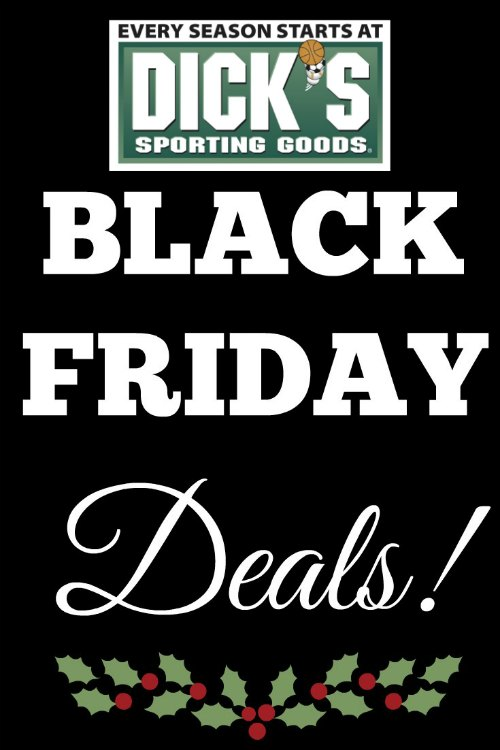 Dicks Sporting Goods Black Friday Deals