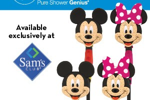 Oxygenics Minnie Mouse Combination Shower Head Giveaway