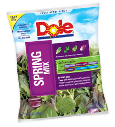Facebook: $0.50/1 Dole Salad Printable Coupon